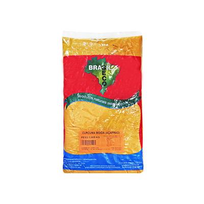 Açafrão em pó por Kg Brasilseco pacote KG