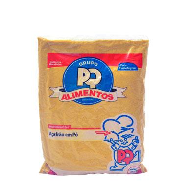 Açafrão em pó por Kg PQ Alimentos pacote KG