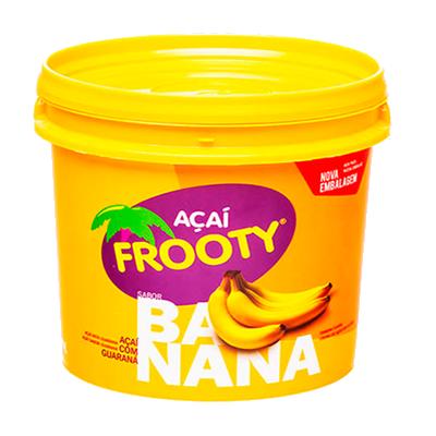 Açaí com banana 500g Frooty pote POTE