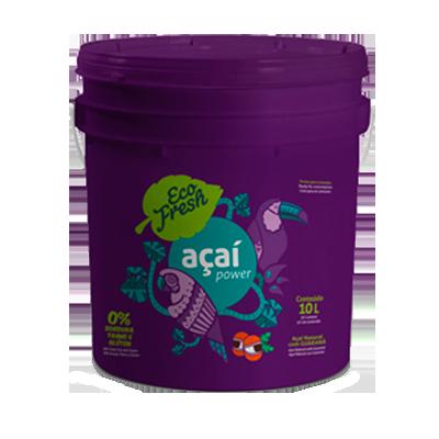 Açaí com morango 10kg Eco Fresh balde BD