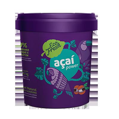 Açaí natural 1kg Eco Fresh pote POTE