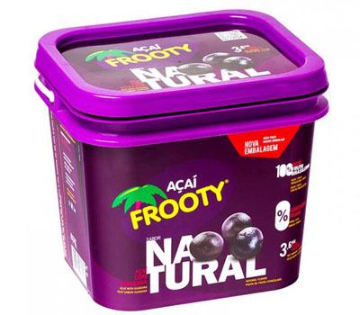 Açaí Natural 3,6kg Frooty balde BD