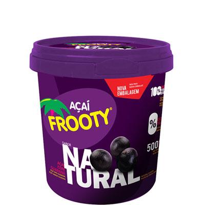 Açaí natural 500g Frooty pote POTE