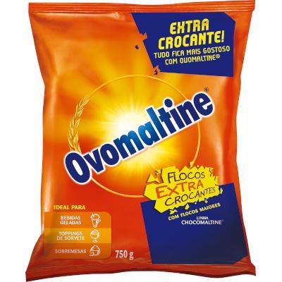 Achocolatado em Pó flocos crocantes 750g Ovomaltine pacote UN