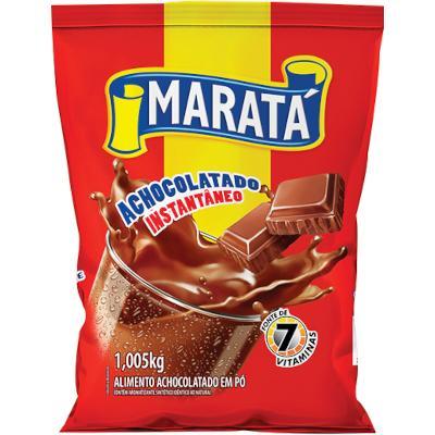 Achocolatado em Pó  1,005kg Maratá pacote PCT