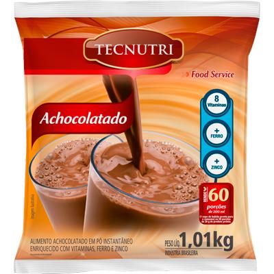 Achocolatado em Pó 1,01kg Tecnutri pacote UN