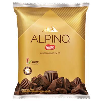 Achocolatado em pó 1kg Nestlé/Alpino pacote PCT