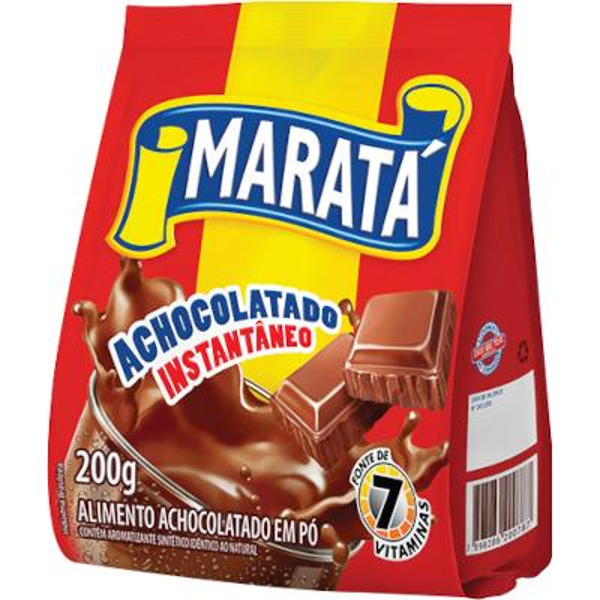 Achocolatado em Pó 200g Maratá pacote PCT
