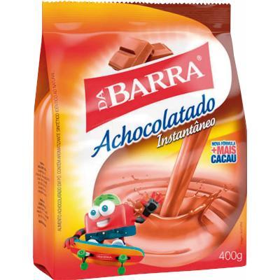 Achocolatado em Pó 400g Da Barra pacote UN