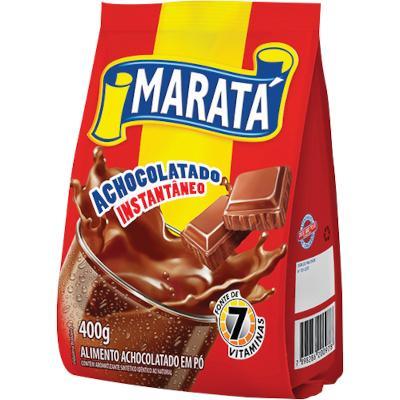 Achocolatado em Pó 400g Maratá pacote PCT