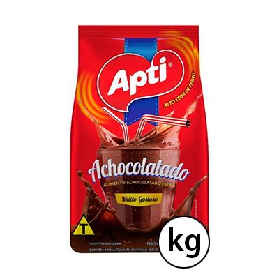 Achocolatado em Pó 1Kg Apti pacote UN
