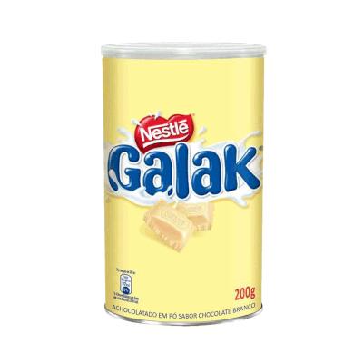 Achocolatado em Pó sabor chocolate branco 200g Nestlé/Galak  UN