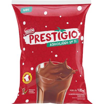 Achocolatado em Pó sabor prestígio 1,01g Nestlé/Prestígio pacote UN