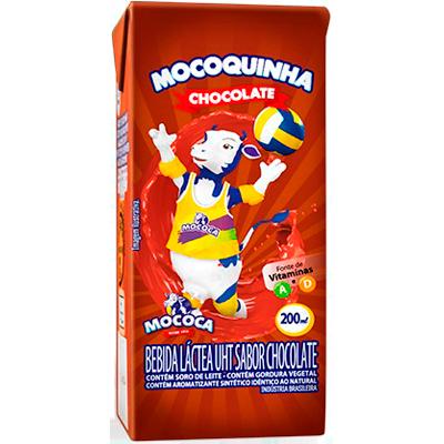 Achocolatado  200ml Mocoquinha Tetra Pak UN