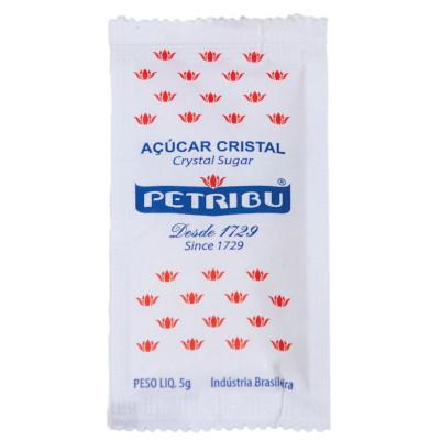 Açúcar Cristal unidades de 5/6g  Petribu em sachês UN