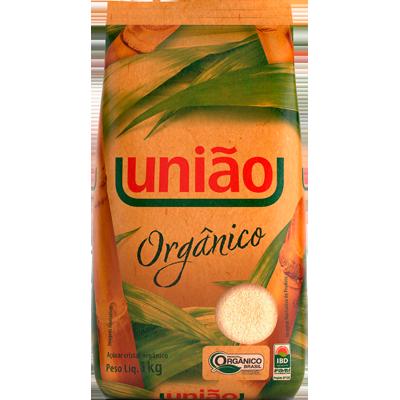 Açúcar cristal orgânico 1kg União pacote PCT