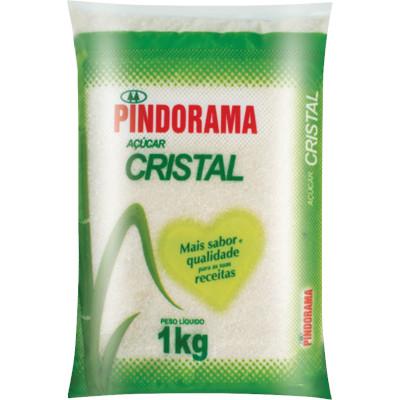 Açúcar Cristal 1kg Pindorama pacote PCT