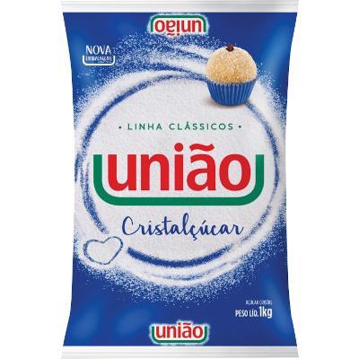 Açúcar Cristal 1kg União pacote PCT