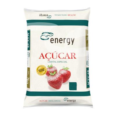 Açúcar cristal 5kg Energy pacote PCT
