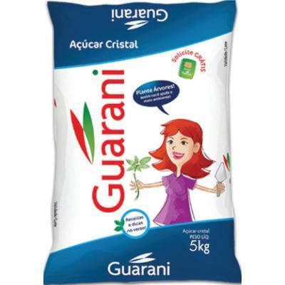 Açúcar cristal 5kg Guarani pacote PCT