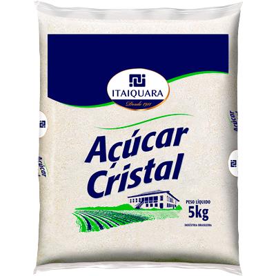 Açúcar cristal 5kg Itaiquara pacote PCT