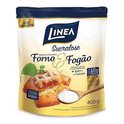 Adoçante em Pó Culinário Sucralose 400g Linea sachê UN