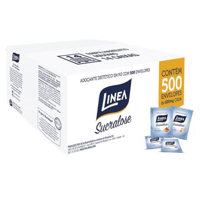 Adoçante em Pó Sucralose (500 sachês) Linea caixa CX