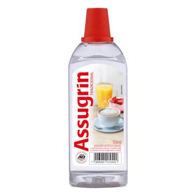 Adoçante Líquido Sacarina 100ml Assugrin frasco UN