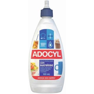 Adoçante Líquido Sucralose 160ml Adocyl frasco UN