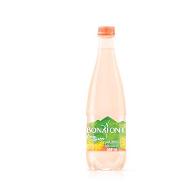 Água aromatizada com gás sabor cravo e tahiti 500ml Bonafont pet UN