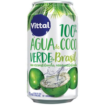 Água de Coco  335ml Vittal lata UN