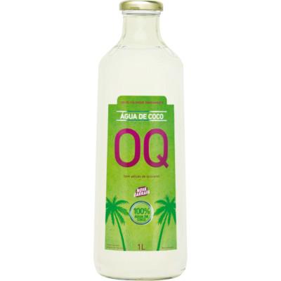 Água de coco Natural 1Litro OQ garrafa UN