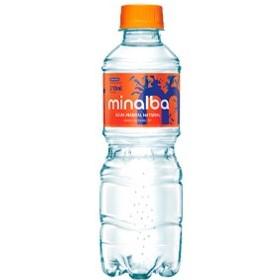 Água mineral natural com gás 310ml Minalba pet UN