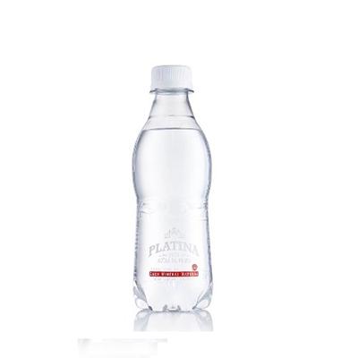 Água mineral natural com gás 310ml Platina pet UN