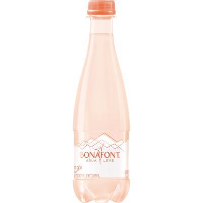 Água mineral natural com gás 330ml Bonafont pet UN
