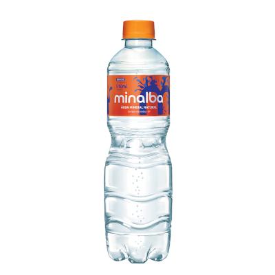 Água mineral natural com gás 500/510ml Minalba pet UN