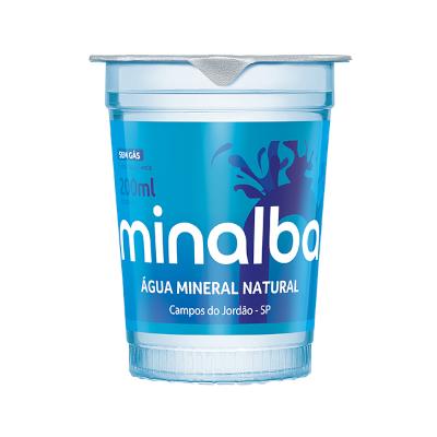 Água mineral natural 200ml Minalba copo UN