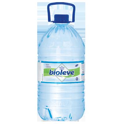 Água mineral natural 6 Litros Bioleve galão UN