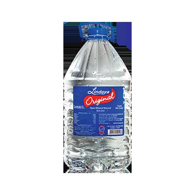 Água mineral natural 6Litros Lindoya Original galão GL