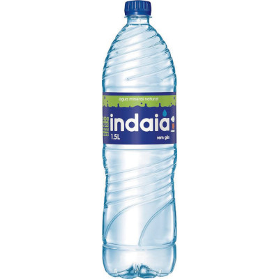Água mineral Natural  1,5 Litros Indaiá pet UN