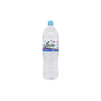 Água mineral natural 1,5Litros Bem Leve pet UN