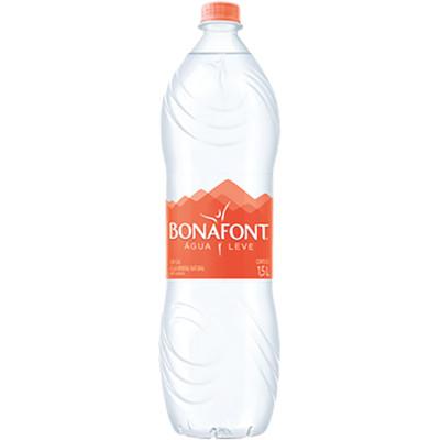 Água Mineral Natural sem Gás 1,5Litros Bonafont pet UN