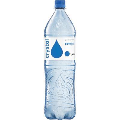 Água mineral natural 1,5Litros Crystal pet UN