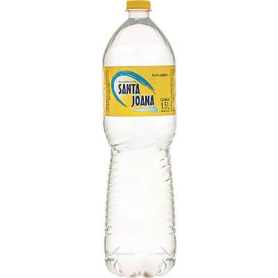Água Mineral Natural 1,5Litros Santa Joana  pet UN