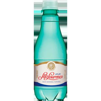 Água mineral natural 300ml São Lourenço pet UN