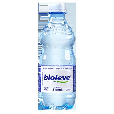 Água mineral natural 310ml Bioleve pet UN