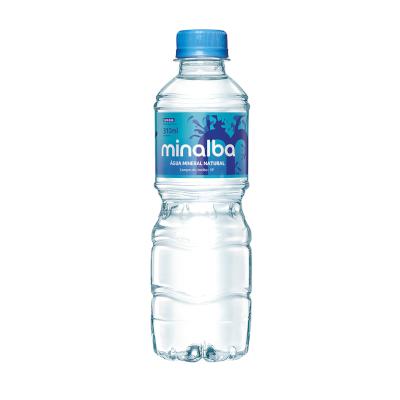 Água mineral natural 310ml Minalba pet UN