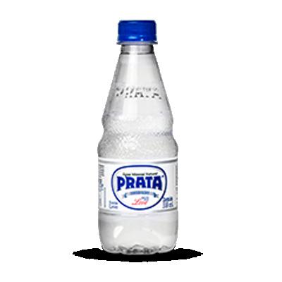 Água mineral natural 310ml Prata pet UN