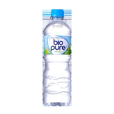 Água Mineral Natural sem Gás 500ml Biopure pet UN