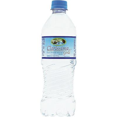 Água mineral natural 500/510ml Clarissima pet UN